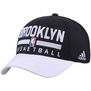 Brooklyn Nets adidas 2Tone Structured Snapback Hat